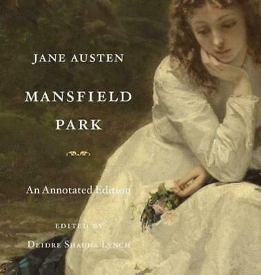 Mansfield Park: An Annotated Edition by Jane Austen (English) Hardcover Book Fre