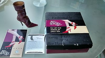 """Collectible Miniature Shoe """"Just the Right Shoe"""" by Raine - Highlights (Boxed)"""