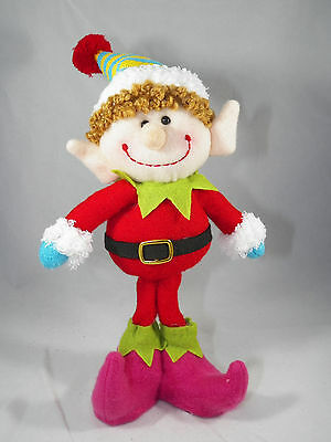 Elf in Red Santa Suit Christmas Tree Ornament new holiday