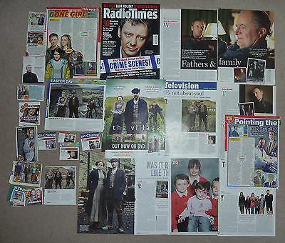 actor John Simm magazine cuttings clippings articles Radio Times etc
