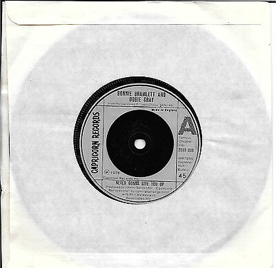 Bonnie Bramlett And Dobie Gray Never Gonna Give You Up 7 Inch Single