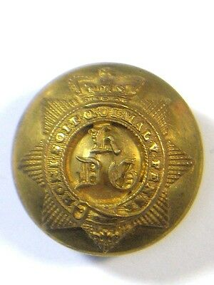 1st Kings Dragoon Guards original Victorian Officers Large Button.