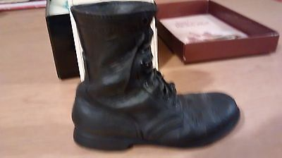 """Collectible Miniature """"Just the Right Shoe"""" by Raine - Military Boot (Boxed)"""