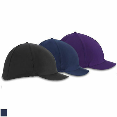Shires Lycra Riding Hat Cover Plain