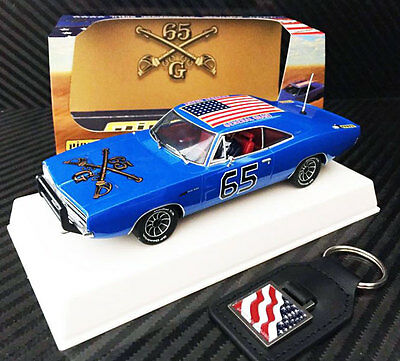 Pioneer Dodge Charger The General Grant Crazy Blue Slot Car Dukes Scalextric