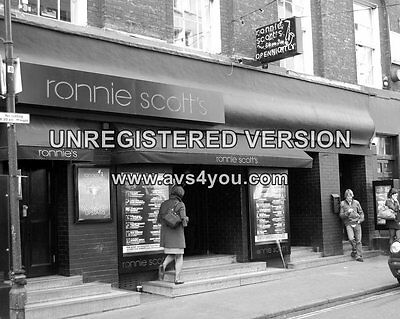 "Ronnie Scotts Club Soho Sixties 10"" x 8"" Photograph no 3"