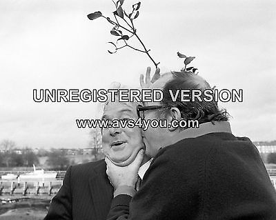 """Morecambe and Wise 10"""" x 8"""" Photograph no 12"""