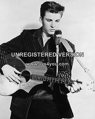 "Ricky Nelson 10"" x 8"" Photograph no 8"