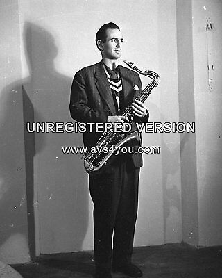 "Ronnie Scott 10"" x 8"" Photograph no 2"