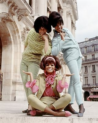 """Diana Ross and the Supremes 10"""" x 8"""" Photograph no 28"""