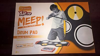 Drum Pad for the MEEP Tablet Brand new in box with drum sticks