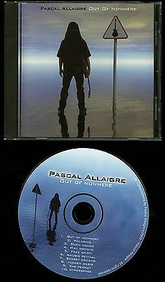 Pascal Allaigre Out Of Nowhere CD shred guitar