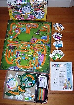 GAME OF LIFE-THE SIMPSONS EDITION Contents Complete,Excellent Condition A+