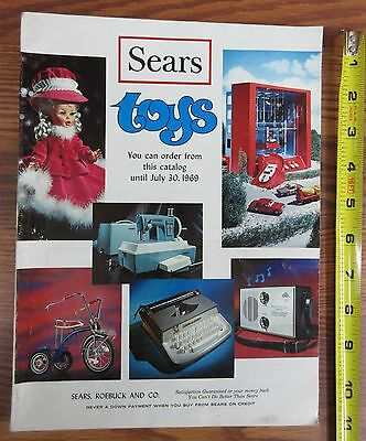 Vintage 1969 Sears Toy Catalog 170 Pages Toys Bikes Matchbox Cars #227
