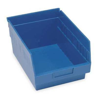 "Blue Shelf Bin, 17-7/8""L x 11-1/8""W x 6""H QUANTUM STORAGE SYSTEMS QSB210BL"
