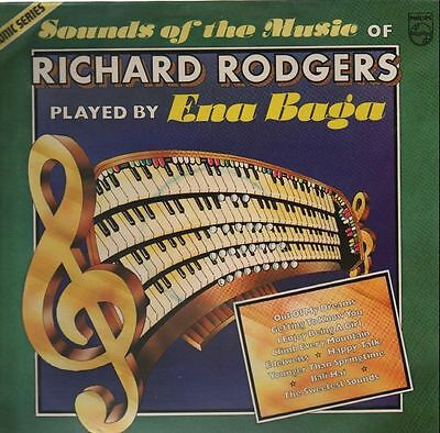 Ena Baga Sounds of the Music of Richard Rodgers NEAR MINT Philips Vinyl LP