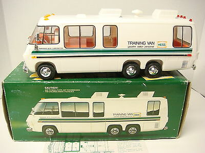 1978  Hess Toy GMC Motorhome Hess Gasoline Training Van  MINT in box!!