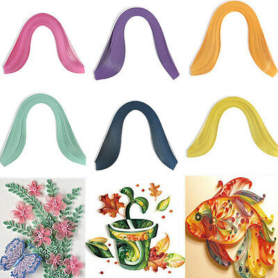 120 Stripes 3mm Width Solid Color Quilling Paper Origami Paper DIY Hand Craft