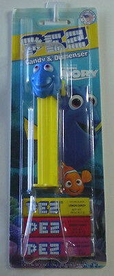 PEZ Dory Candy Dispenser New On Finding Dory Card