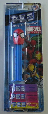 PEZ Spiderman 2009 Candy Dispenser New On Marvel Universe Card