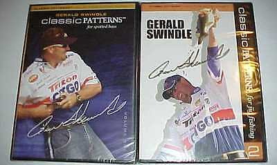 2 New BASS CLASSIC PATTERNS Gerald Swindle DVD Fish SERIES 1 & 2 COLLECTOR DVDs