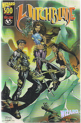 WITCHBLADE #500 (Wizard limited edition w/certificate) Top Cow Comics FINE
