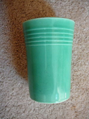 "Fiesta Original - Vintage Light Green Juice Tumbler Cup 3.5"" Tall- Hlc Excellent"