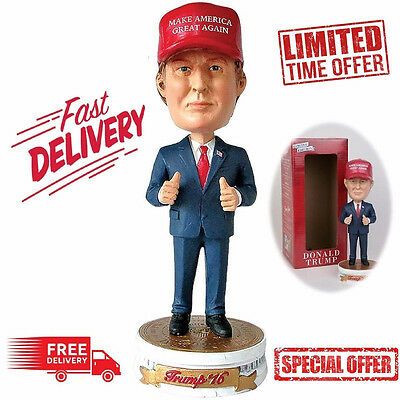 Donald Trump Doll Shaking Head Car Oranment Figures Toy For Kids Present