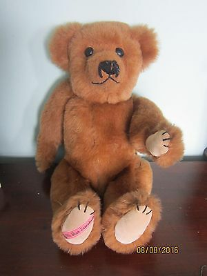 """THE BEAR ESSENTIALS IOW - Plush, Fully Jointed 18"""" Teddy"""