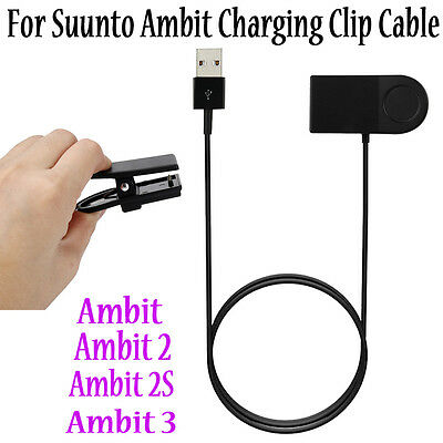 Suunto Ambit Watch Charger Charging Clip Cable For Suunto Ambit/Ambit2/Ambit 3