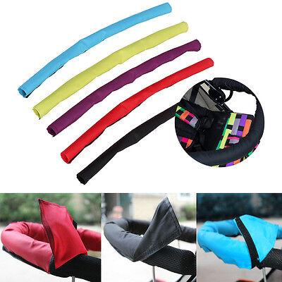 Baby Infant Pushchair Stroller Pram Buggy Fabric Front Handle Bumper Bar Cover