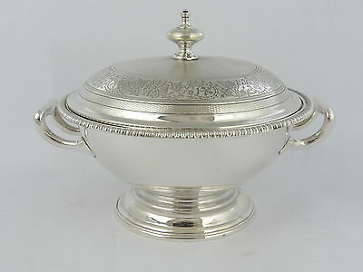 FAB QUALITY Hunt & Roskell SILVER TUREEN, London 1867 Paul Storr 534g sterling