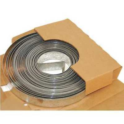 """ZORO SELECT DS-201 Duct Strapping, Galvanized Steel, 20 GA, 1"""" W x"""