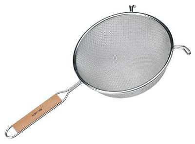 VOLLRATH 47198 Wired Double Mesh Strainer, Dia. 8