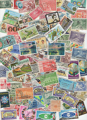 Stamps from Philippines 100 All Different