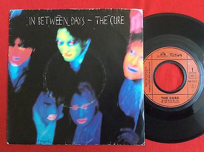 "THE CURE -Inbetween Days- Original French 7"" + Picture Sleeve (Vinyl Record)"