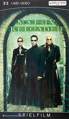 PSP - UMD Video - Matrix Reloaded (dans l'emballage) (utilisé)