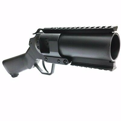 AS566 NEW Airsoft Toy CYMA 40mm Pistol Grenade Launcher AEG Black