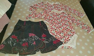 M&S Girls Set Bundle Age 2-3