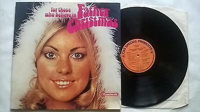 For Those Who Believe In Father Christmas Uk  Lp G/f Slv Cbs Lsp 13070 Crawfords