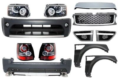 Body Kit Land Range Rover Sport L320 05-10 Autobiography Look Paraurti Griglie