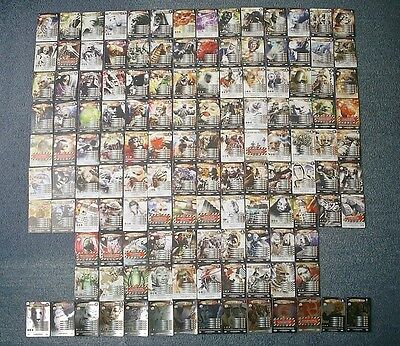 Doctor Who Battles in Time 136 different ULTIMATE MONSTERS inc 14 Rare Cards Set
