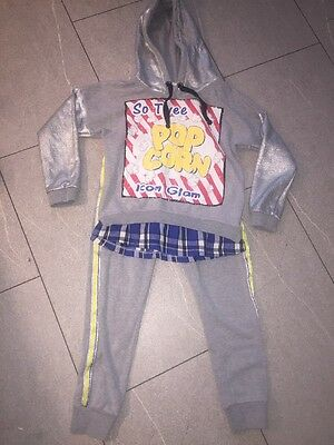 Girls Age 8 So Twee By Miss Grant Jogging Suit