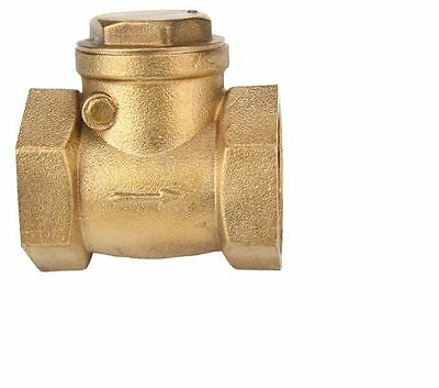 "2 NEW PLUM-PRO Brass 3/4"" Swing Check Valve"