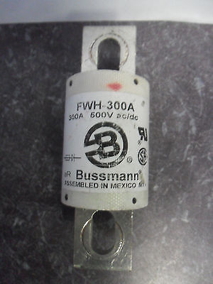 Nice Bussmann Semiconductor Fuse FWH-300A 300 Amp 500 Volt