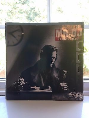 "The Concept - Mr Dj 12"" Vinyl ""rare"" Classic"