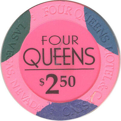 Four Queens Casino - $2.50 Casino Chip
