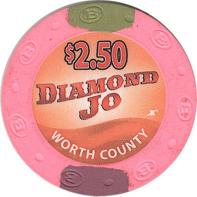 Diamond Jo Casino - $2.50 Casino Chip