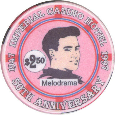 Imperial Casino - Melodrama 50th Anniversary - $2.50 Casino Chip