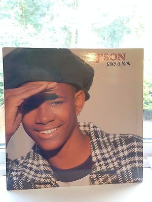 """J'son - Take A Look 12"""" Vinyl """"rare"""" Us Classic Red Hot Lover Tone"""